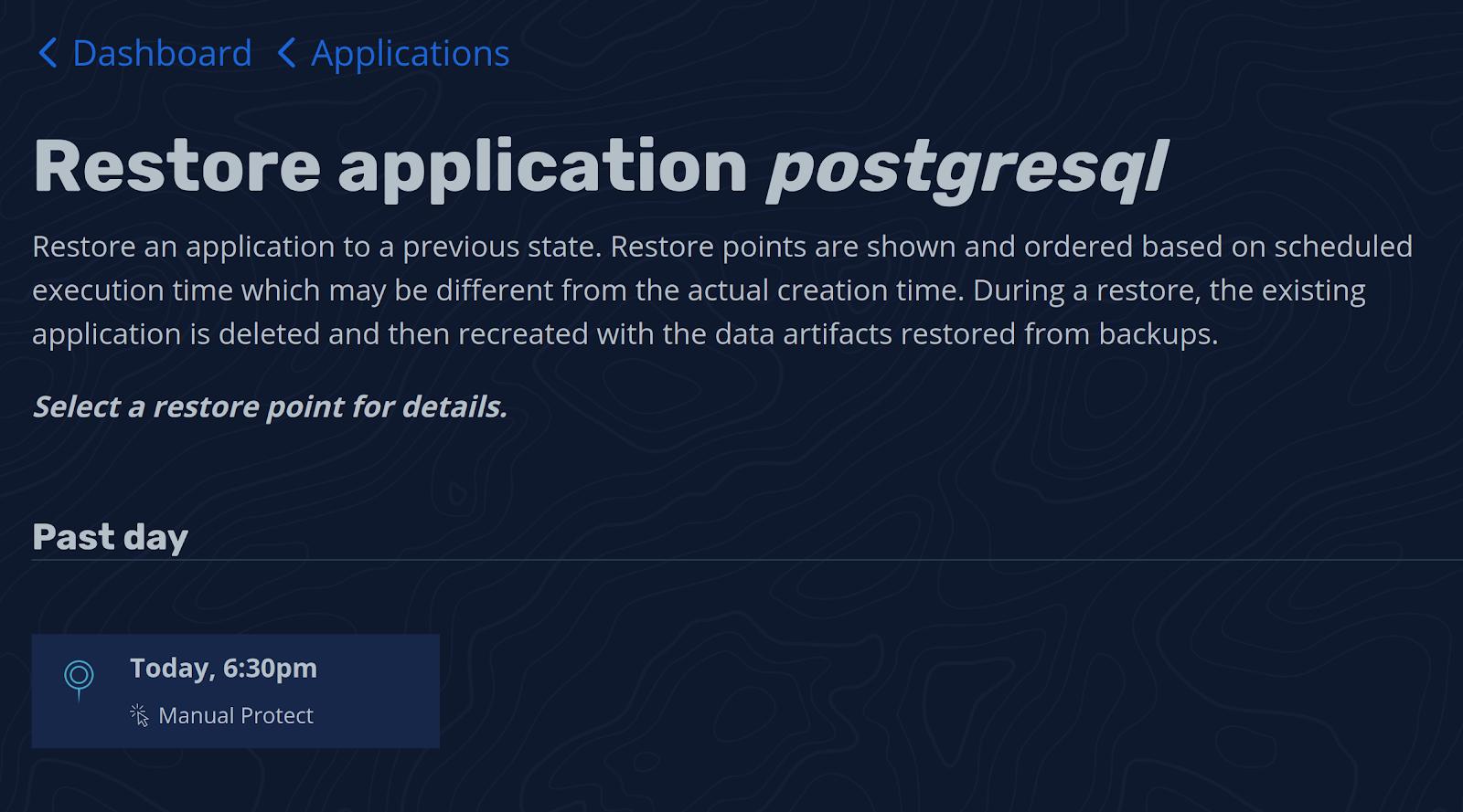 Restoring PostgreSQL-1-4