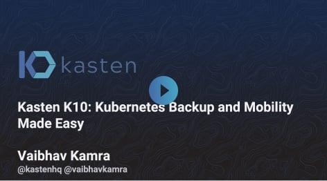 Webinar with K10 demo
