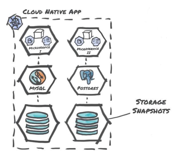 Storage Centric Snapshots
